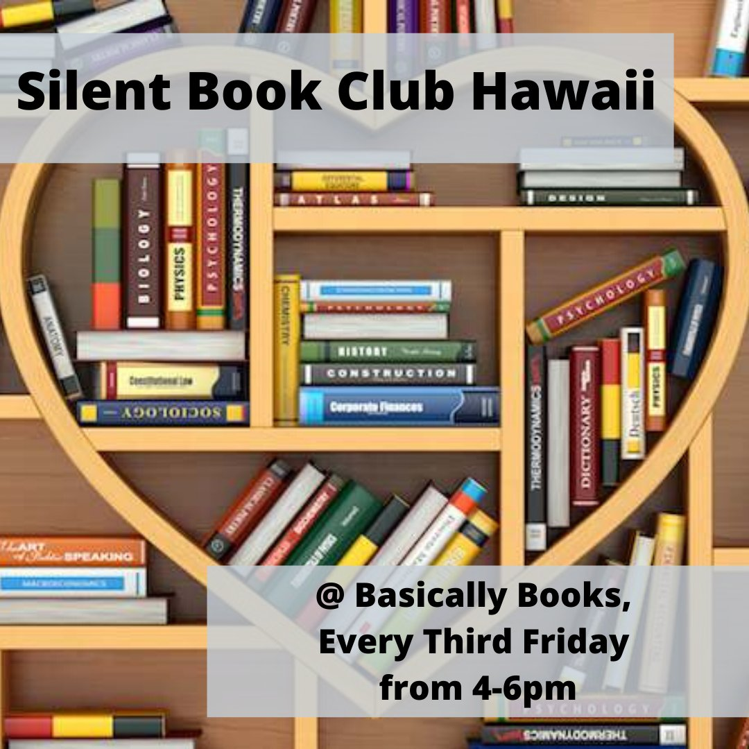 Today!!! . . . . . #hawaii #bookclubs #events #literacy #shoplocal #hilo #bookstore #indiebookstore #booklovers