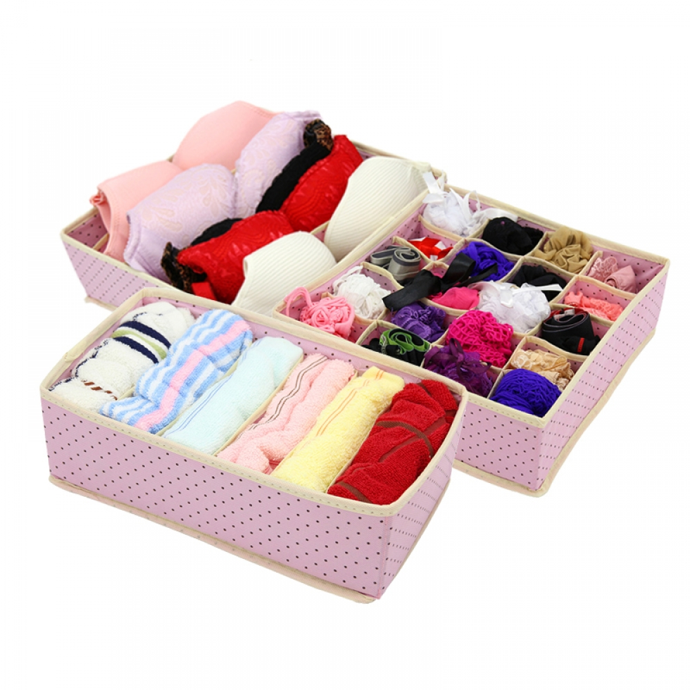 Folding Socks and Underwear Storage Organizer #yard #hobby #play