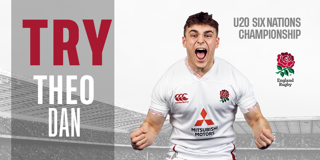 test Twitter Media - 56' ENG 21 - 34 IRE  TRY ENG | England get their driving maul rolling and hooker Theo Dan drives his way over to keep the hosts in this. Barton slots the conversion.   Watch live on @SkySports Mix.   #ENGvIRE https://t.co/ZNVTwn2Ob8
