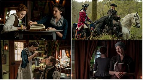 #Outlander Episode 5.02 -  - 18 HQ Tagless Stills #CaitrionaBalfe #SamHeughan #SophieSkelton #RichardRankin