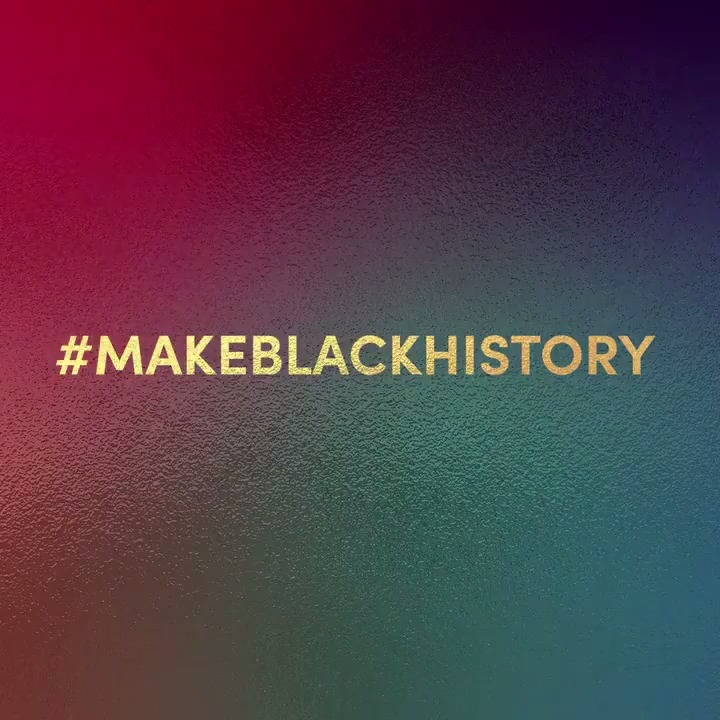 thank you to our creators. 🎬 #MakeBlackHistory narrated by @BRYCEXAVIER