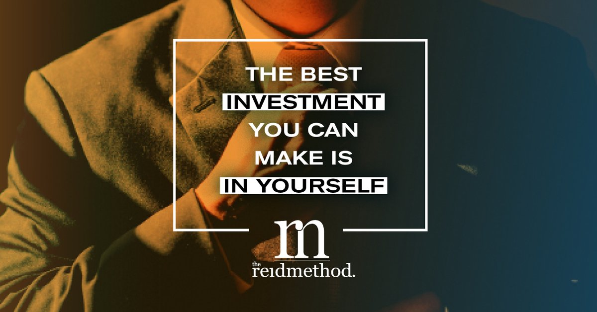 In a service based industry our minds are conditioned to put the needs of our clients first. But how do you balance to ensure you are still investing in yourself and your goals?  http://www.TheReidMethod.com #Mindset #InvestInYourself #GoAllin #NeverSettle pic.twitter.com/FpcynLF2vb