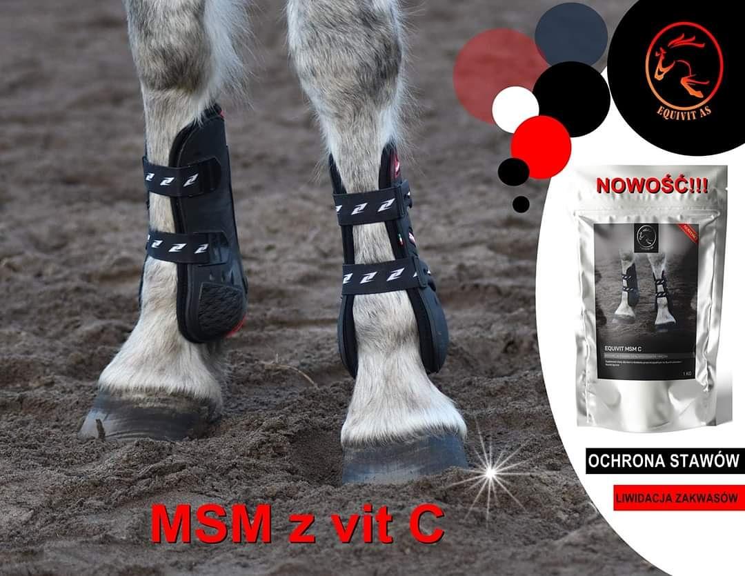 NOWOŚĆ💙 EQUIVIT MSM C™ to suplement diety, który łączy w sobie MSM i Witaminę C. Wywołuje synergię,czyli efekt współdziałania kilku składników potęgujących swoje działanie. #konie #jumpinghorse #horse #hodowlakoni #arabianhorse #żywieniekoni #msm #stajnia #suplementydlakoni https://t.co/HxmUWsYZ4U