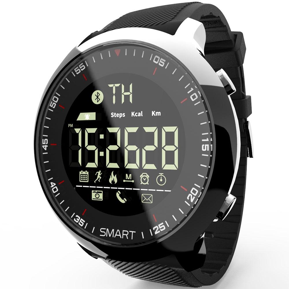 #fashion #belt Professional Sports Round Shaped Waterproof Silicone Smart Watch