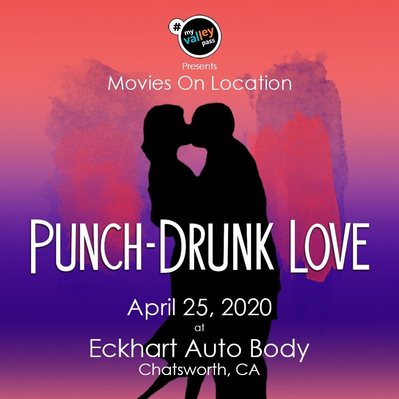 Attend a screening of PUNCH-DRUNK LOVE at the location used for BARRY EGAN'S WAREHOUSE!   April 25th, 2020.  Chatsworth, CA.  Event by the awesome folks at @MyValleyPass https://is.gd/upmfgq   #ValleyFilmNerds #PaulThomasAnderson #PTA #OnLocation #PunchDrunkLove #PDLpic.twitter.com/lo2DtORPef
