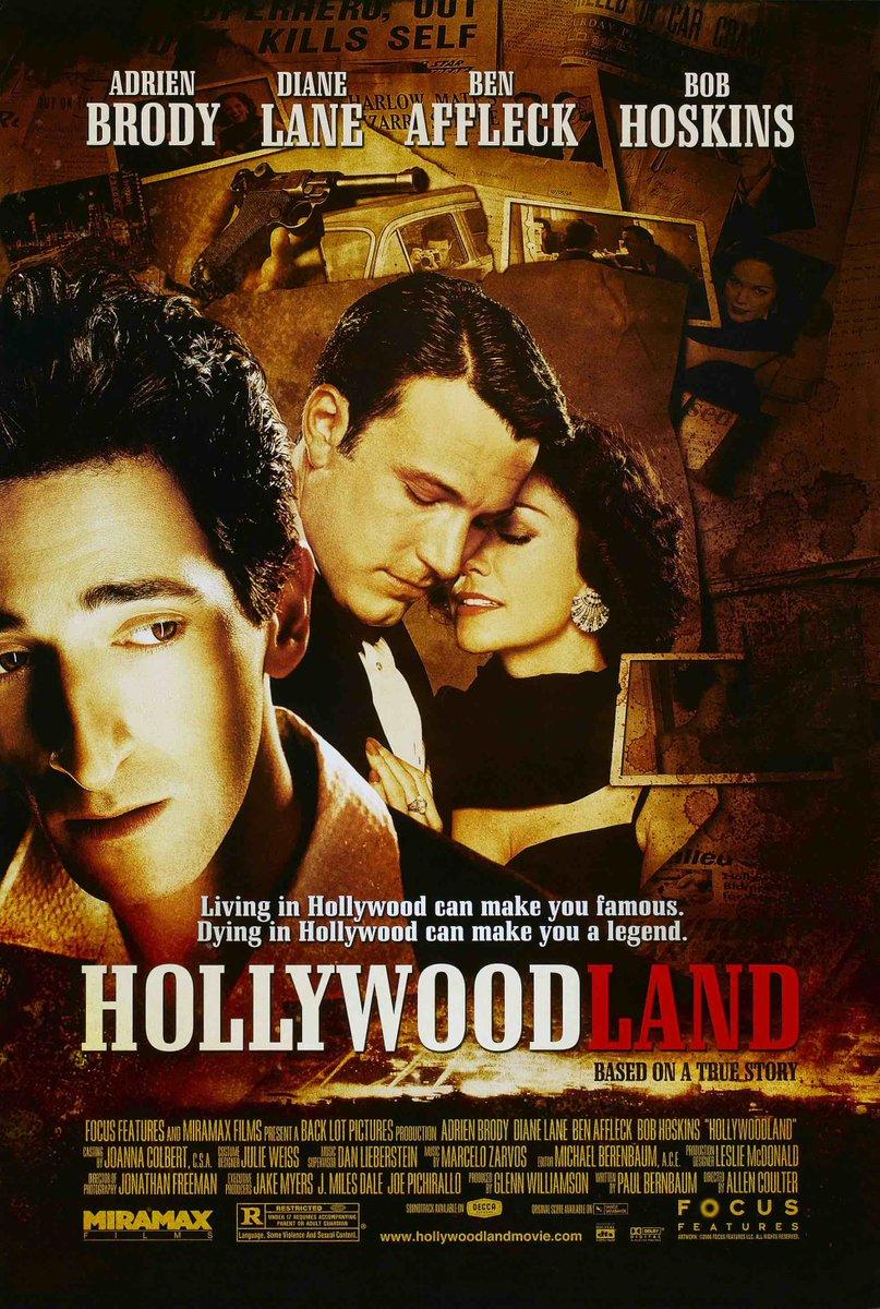 @KLStudioClassic: 'Coming Soon on Blu-ray!  Hollywoodland (2006) Starring Adrien Brody, Ben Affleck, Diane Lane, Bob Hoskins & Robin Tunney - Shot by Jonathan Freeman (Game of Thrones) - Screenplay by Paul Bernbaum (Nex… pic.twitter.com/7VOc6CgrAO, see more http://tweetedtimes.com/topic/Adrien%20Brody?s=tnp…