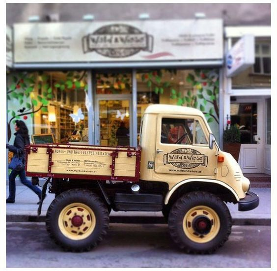 A #cute #quirky #1950s #Unimog 411 #pickup