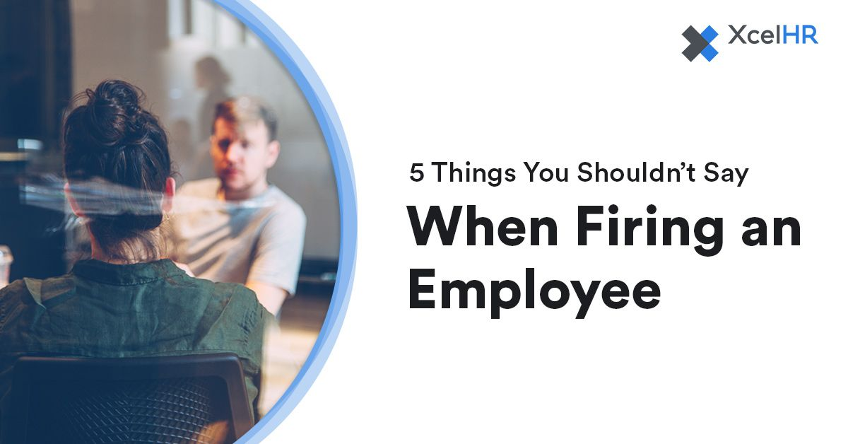 Letting an employee go, a.k.a. 'firing' someone, is pretty unpleasant business. Here are the top things NOT to say, and what you should say instead. Right pointing backhand index http://bit.ly/2UyiT12  #smallbusinessowners #smallbusiness #businessowner #businessowners #startuppic.twitter.com/ctvYnphk0A