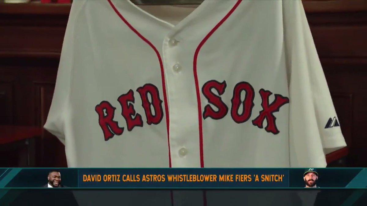 "Dan reacts to David Ortiz calling Mike Fiers a ""snitch"""