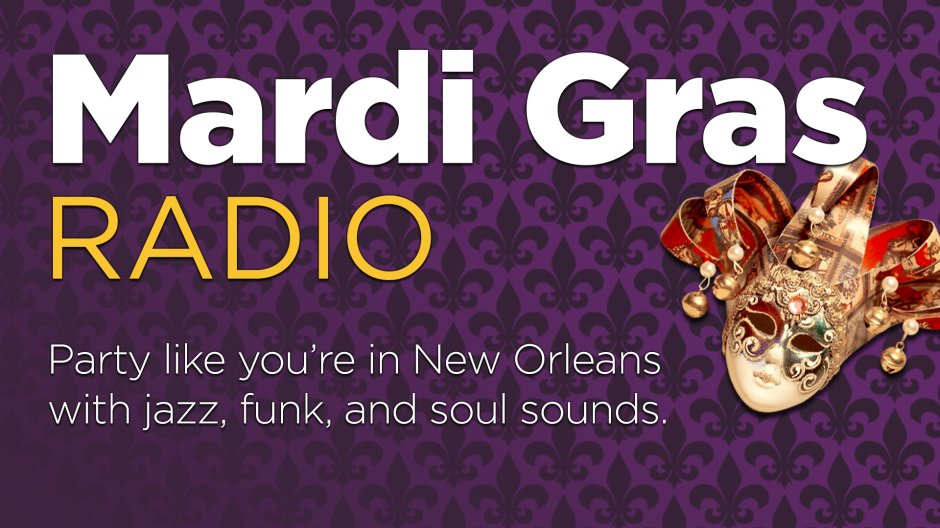 Get your beads ready, folks. Details: siriusxm.us/mg #MardiGras2020