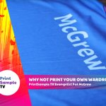Image for the Tweet beginning: The options for printing fabric