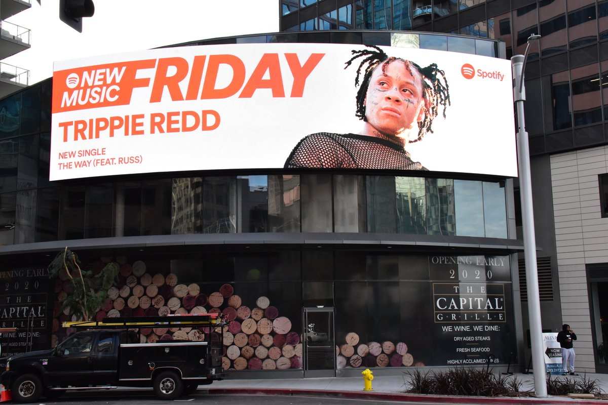 THANK U @Spotify FOR THE LOVE 💕💕💕 trippieredd.lnk.to/allty4deluxe/s…