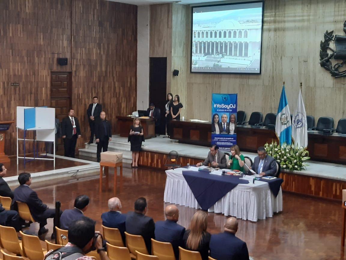 test Twitter Media - Por falta de quórum la elección de los representantes de los magistrados de Salas de Apelaciones ante el CCJ fue suspendida. Acudieron al evento únicamente 18 togados. https://t.co/vF6Lpbqik9