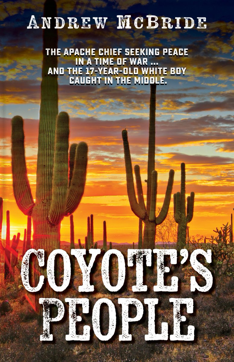 On my BLOG about my forthcoming #western #novel #COYOTE'S #PEOPLE – #Apaches #Arizona 1870s - scheduled to be published by Five Star Publishing (@FiveStarCengage) in April 2020 – you can READ THE FIRST CHAPTER. Come along and browse! https://andrewmcbrideauthor.blogspot.com/2019/12/coyotes-people-by-andrew-mcbride.html…pic.twitter.com/NQAdGcV5Og