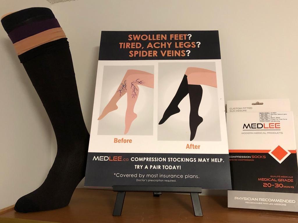 @EC_Orthotics #medlee #compression #stocking #ECOrthotics #spiderviens #bloodflow #swelling #foot #leg #varicoseveins #surgery #injury #bloodclot #toronto #brampton #ontario #canada🇨🇦#size #small  #medium #large