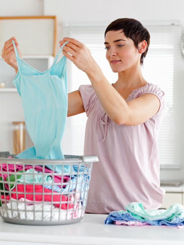 Doing the laundry means taking care of multiple types of fabrics. #housekeeping #chores  http://cpix.me/a/92671135