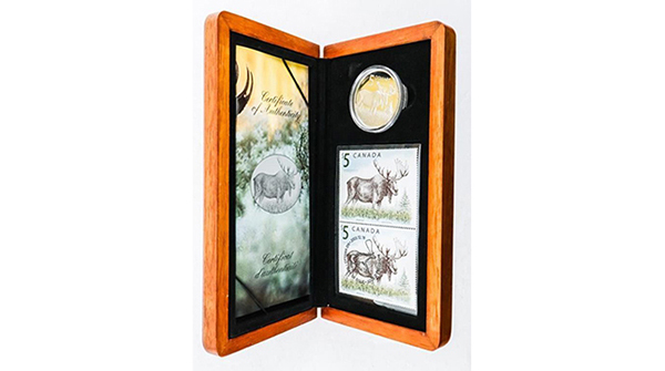 The Majestic Moose .999 Fine Silver $5.00 Coin and Stamp. LE Set https://auction.auctionnetwork.ca/The-Majestic-Moose-999-Fine-Silver-5-00-Coin-and_i36123082… - Online Auction Saturday February 22nd, 2020 At 1:00 PM EST.  Certified #Coins, #Banknotes, #Bullion, #Art, #Jewellery, #Collectibles & More! #OnlineAuction #CoinAuction #Auctionspic.twitter.com/V3vYsDSWUx