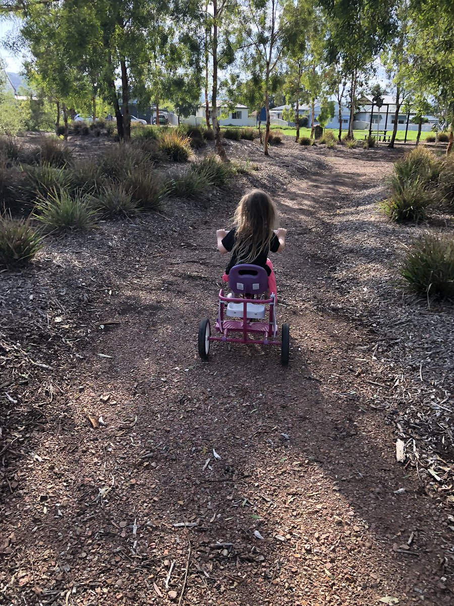 Miss 4 and I out #enjoying the #morning   #earlymorning #fitness #justgirls #family #kids #weekend  #countrylife #countrykids #nofilter #summer  #encourage #inspire #empower