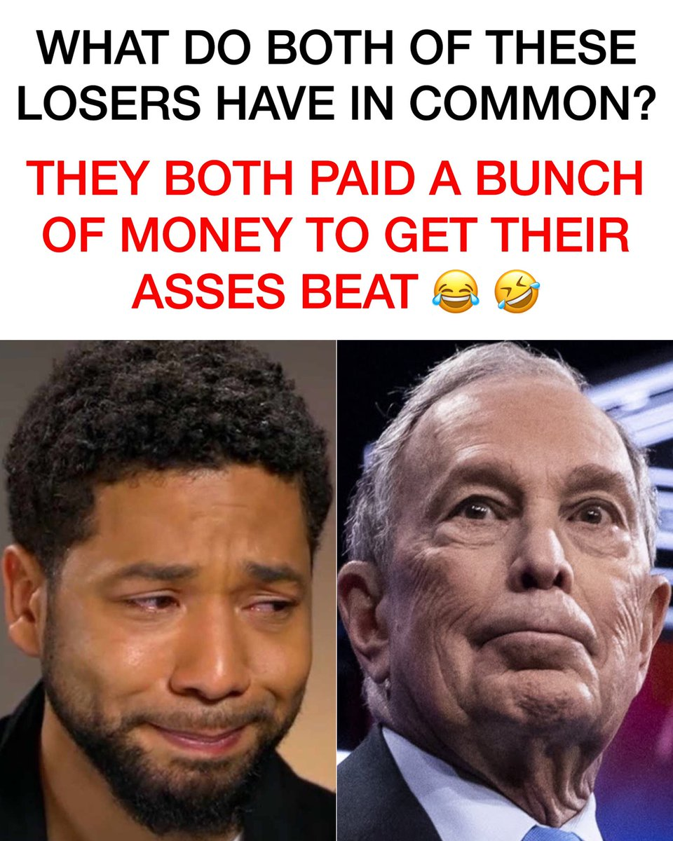 Fact Check: True.  Props to Juicy for only spending $3000 and not $500,000,000 though.  Great work! #Bloomberg2020 #justiceforjussie