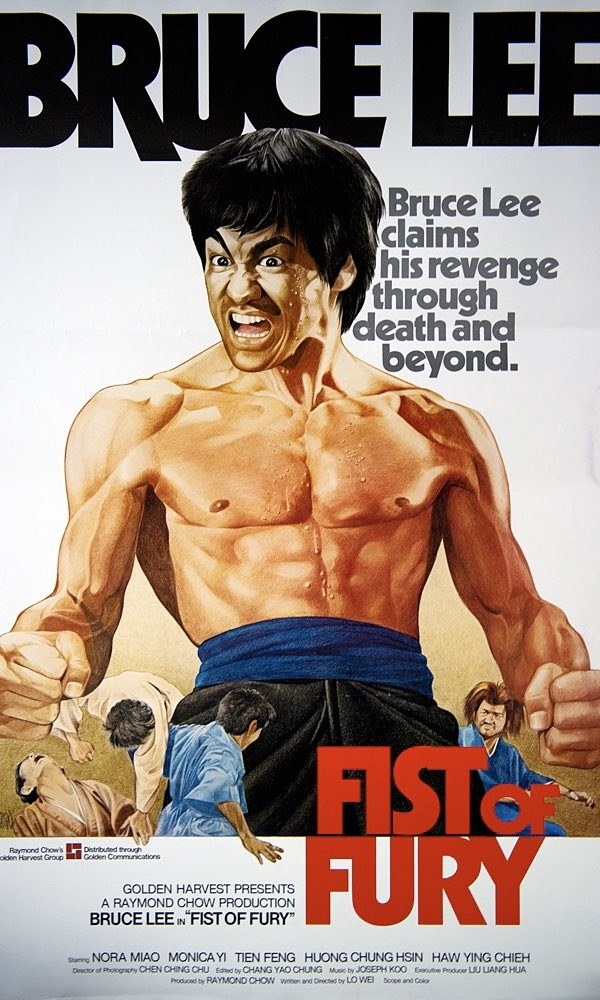 🐉👊🏽💥 Fist of Fury