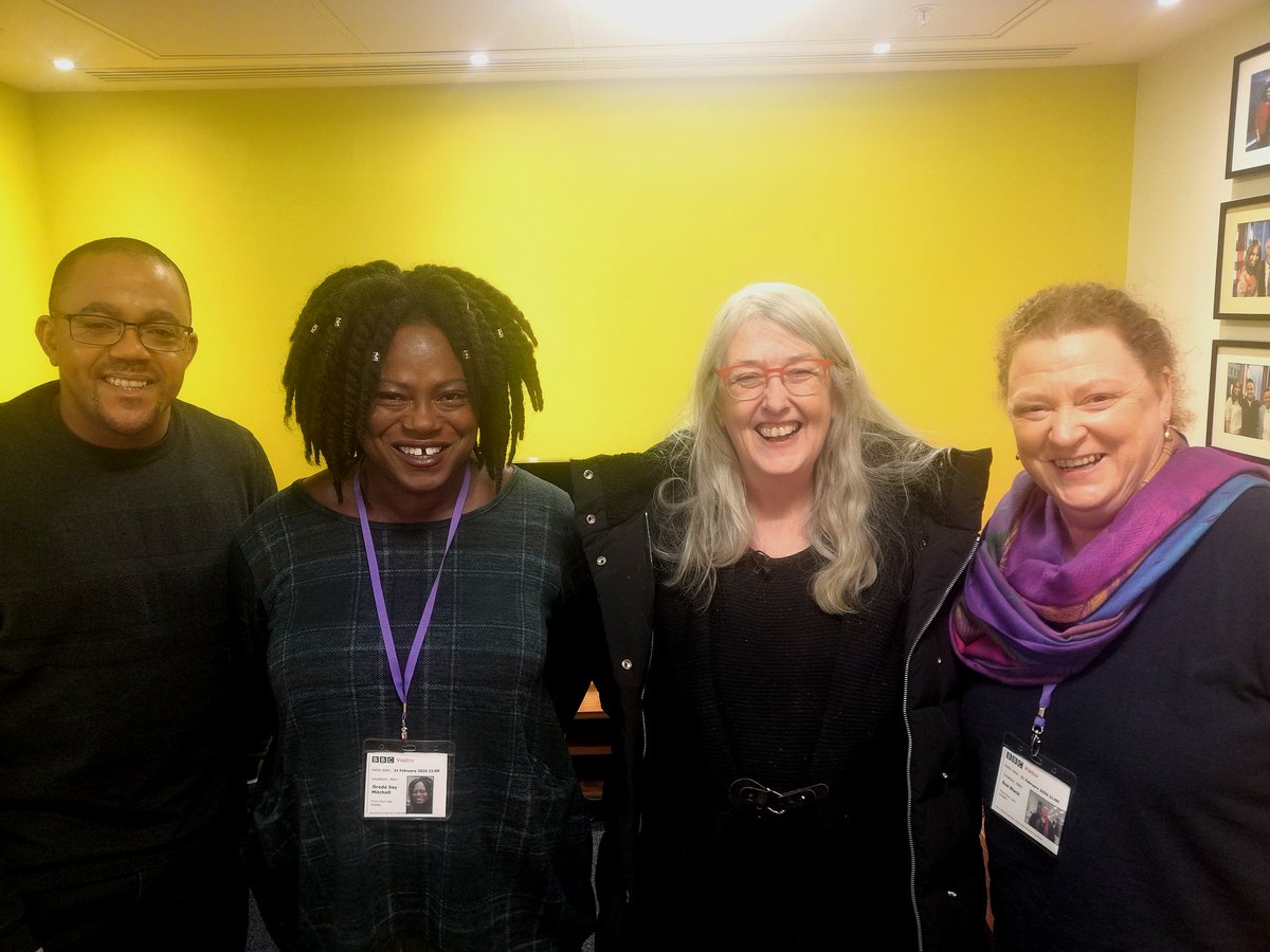 On #FrontRowLate tonight @wmarybeard is talking crime in art and culture with @dredamitchell, @kehinde_andrews and @ProfSueBlack! Tune in at 11.05 on @BBCTwo !