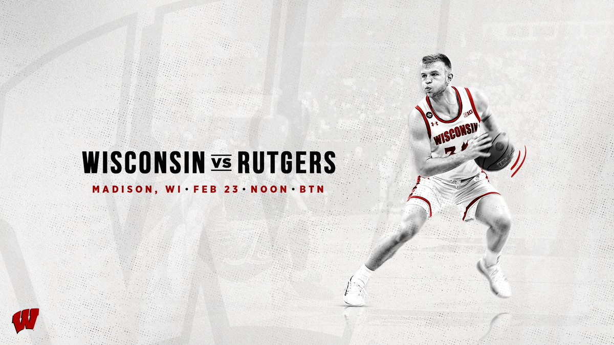 We've got a score to settle Sunday  Get to the Kohl Center early & 𝐋𝐎𝐔𝐃!  #OnWisconsin » #Badgerspic.twitter.com/pdb6nFZm6Y