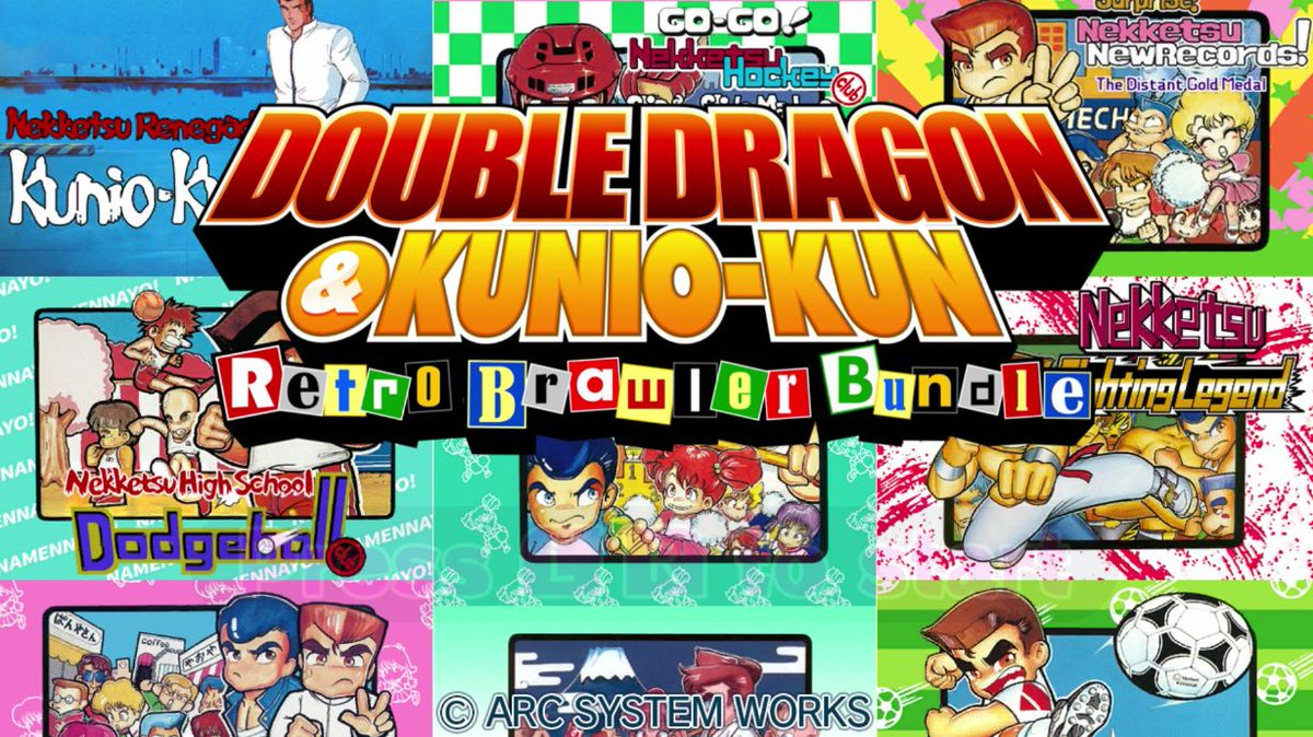 Arcsystemworks Staying Inside On Twitter Check Out Abdallahsmash02 Get Whipped By Purple Haired Girls On Double Dragon And Kunio Kun Retro Brawler Bundle Watch The Game Play Here Https T Co Socxsyodse Kuniokun Doubledragon Https T Co