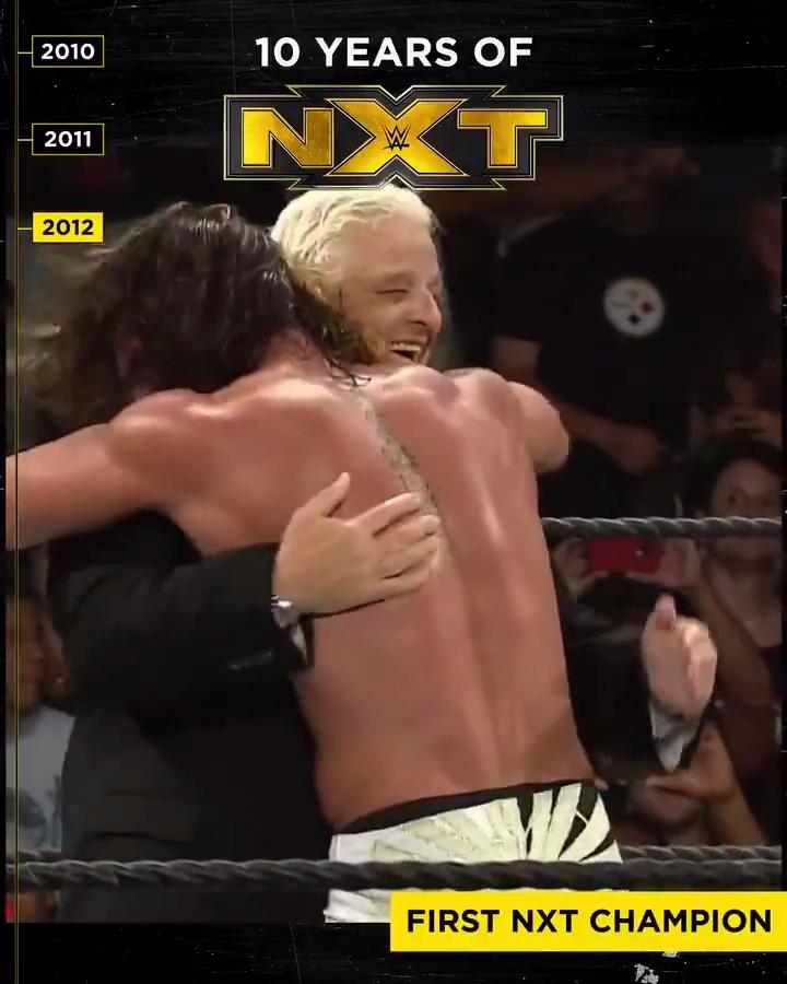 Happy 10th Birthday to @wwenxt! ⚫️🟡 (via @WWENetwork)