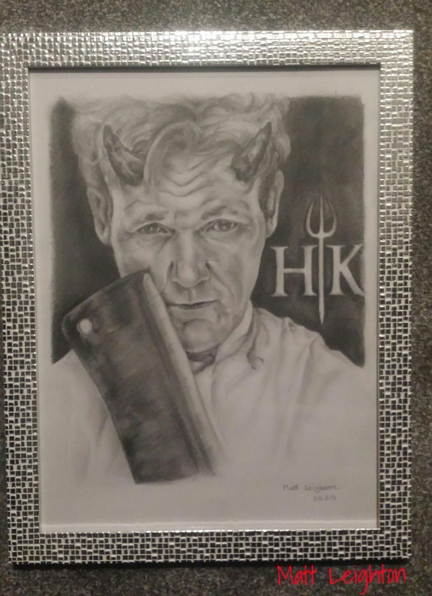 Gordon Ramsay portrait #Pencildrawing #pencilart #portraits #gordonramsay #hellskitchen pic.twitter.com/G28b8mkc2o