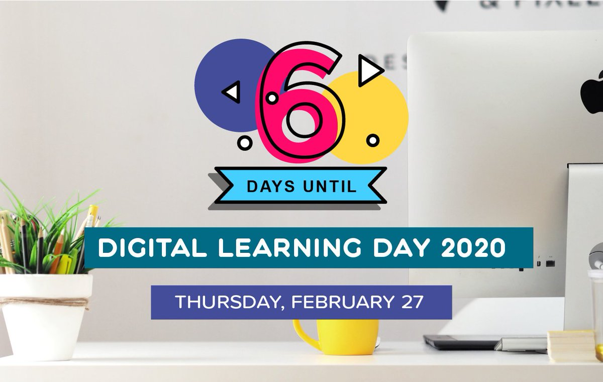 "Are you ready to celebrate ""Digital Learning Day"" on February 27th?   #DLDay #DLDay2020 #LearnLAP #kinderchat #1stchat #2ndchat #3rdchat #4thchat #5thchat #6thchat #7thchat #mschat #edchat #education #edtech #edtechchat #tlap #LeadLAP #cpchat #suptchat #k12"