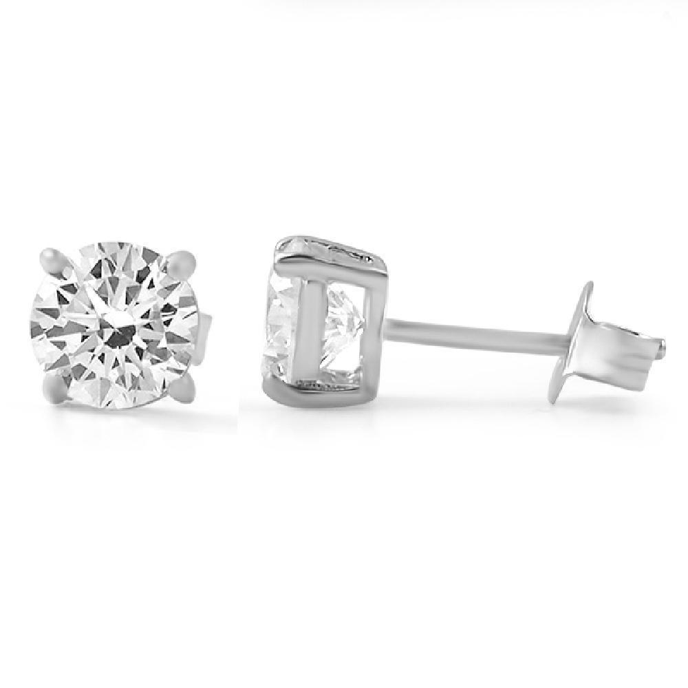 H&A Round Cut CZ Stud Earrings .925 Silver! Bling Bling All Day- 25% OFF EVERYTHING - PROMO CODE Save25 #hiphop #rap #hiphop #hiphopbling #blingbling #swagger #jewelry #sale #blingsale #hiphopsale #style #swag #rapper #luxury #new