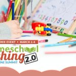 Image for the Tweet beginning: The Homeschool Teaching Summit 2.0