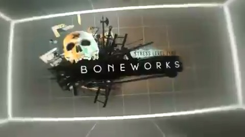 Image for the Tweet beginning: Boneworks' advanced physics engine takes