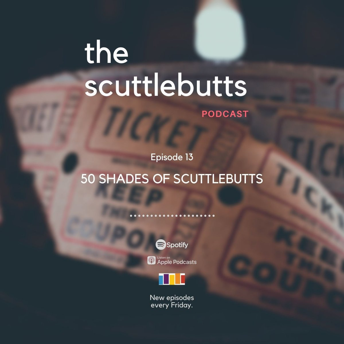 The Scuttlebutts discuss why we were glad The Irishman didn't win any Oscars, why Valentine's Day is dumb, and why Christian Grey is really a great guy. No really, hear us out.#50shadesofgrey #ValentinesDay2020 #Friday #podcasts #live #TheIrishman #TheIrishman