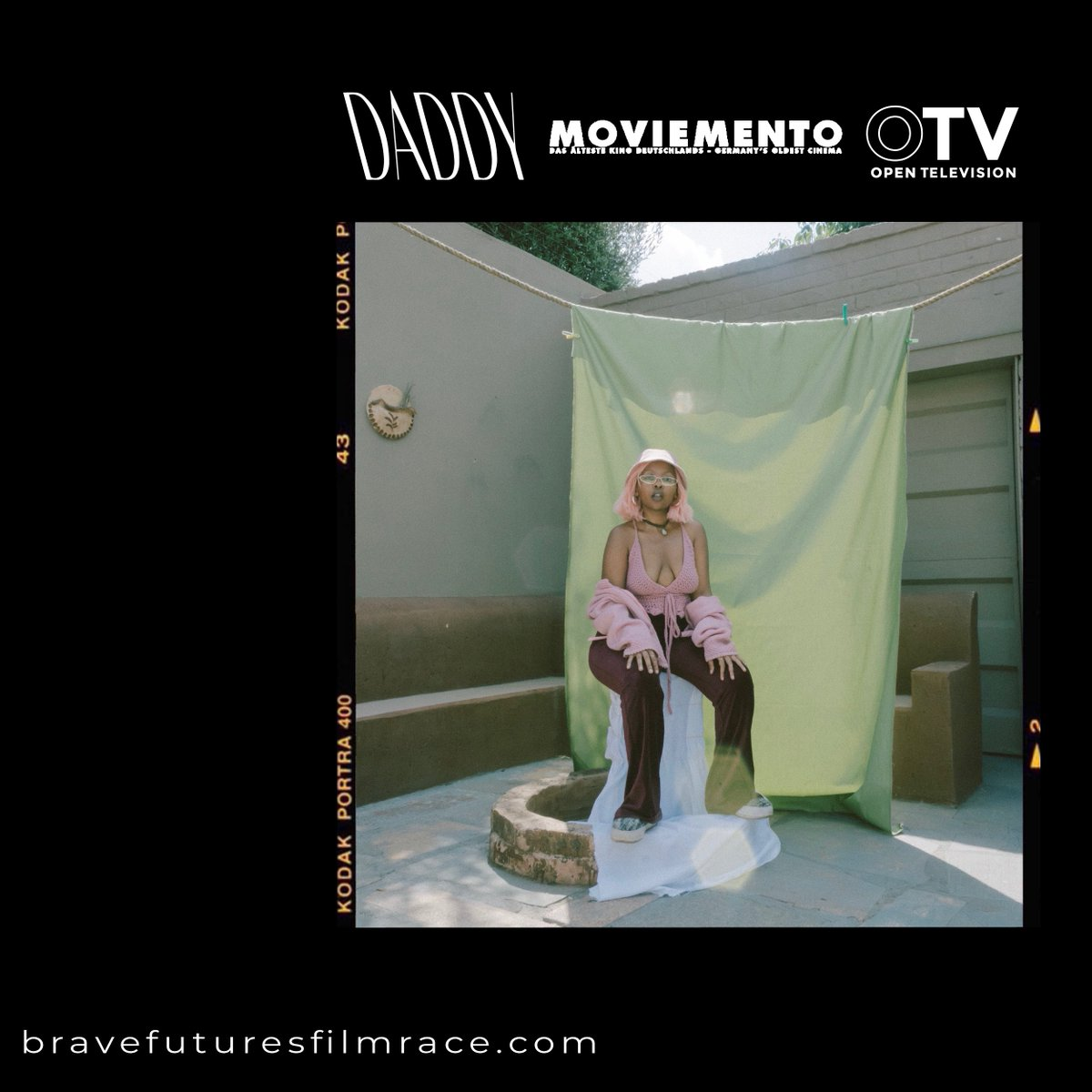 #BraveFuturesFilmRace lands in Berlin February 25+26. Join OTV's Exec Director @elijaa_  and @daddymagberlin Co-Founder @kemifatoba at Germany's oldest cinema @kinomoviemento for a daring program of intersectional shorts. Contest winners will be announced! https://bit.ly/32ffPIVpic.twitter.com/4cXIgwbVT8