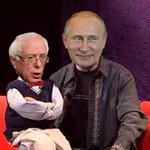 """Image for the Tweet beginning: Here's a """"Bernie is Putin's"""
