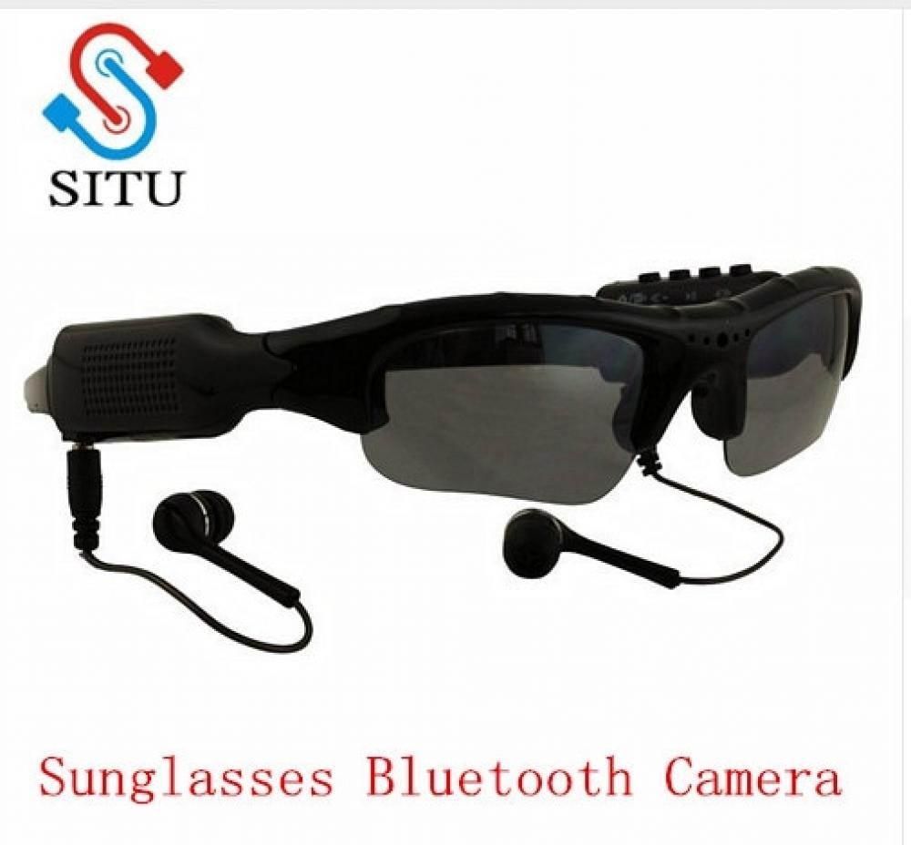 Sport Wireless Sunglasses Bluetooth Camera Eyewear Glasses Support TF Card Video Recorder DVR DV Camcorder mp3 earphone  #fashion|#forhim|#forher|#electronics