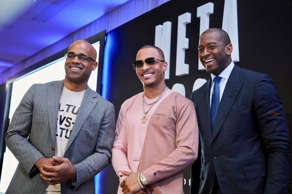 #RT @AndrewGillum: Black men's votes will be vital to the outcome of the 2020 Election. I enjoyed talking with @JamalSimmons & @Tip at the @BET #META conference about the need to engage our community NOW.  #ItsOnUs