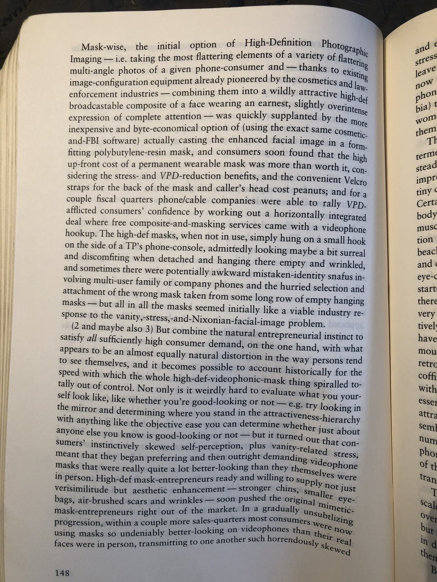 don't know who needs this, but here's david foster wallace describing instagram in 1996. pic.twitter.com/rK6j3bDFYl