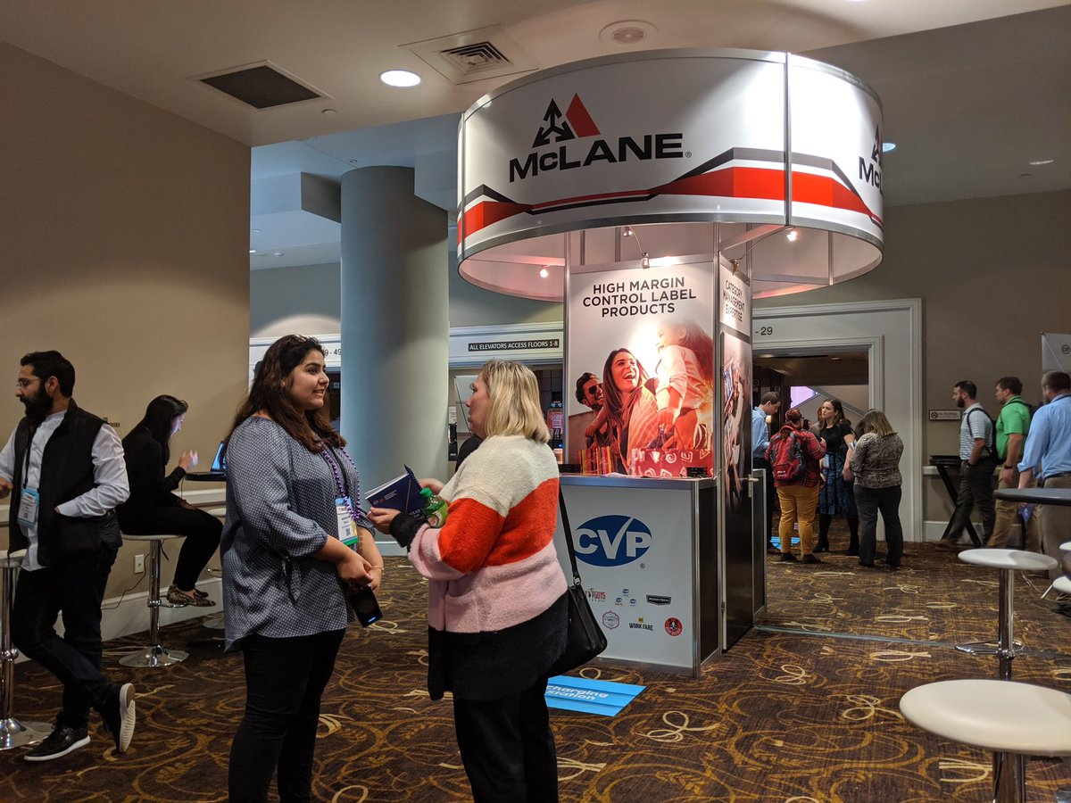 McLane was proud to sponsor Convenience Retailing University in New Orleans this week. It's always great to see old friends and meet new ones in our industry. Laissez Les Bons Temps Rouler! pic.twitter.com/o4J1lhyeYZ