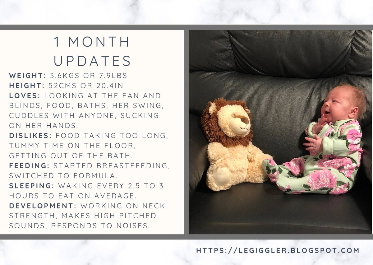 How has a month passed already? AJ's One Month update is up and ready to read! #newborn #mumlife #update #blogpost #newmum #nannylifetomumlife #newblogpost   https://legiggler.blogspot.com/2020/02/ajs-one-month-update.html …pic.twitter.com/Gg1ChxdfVK