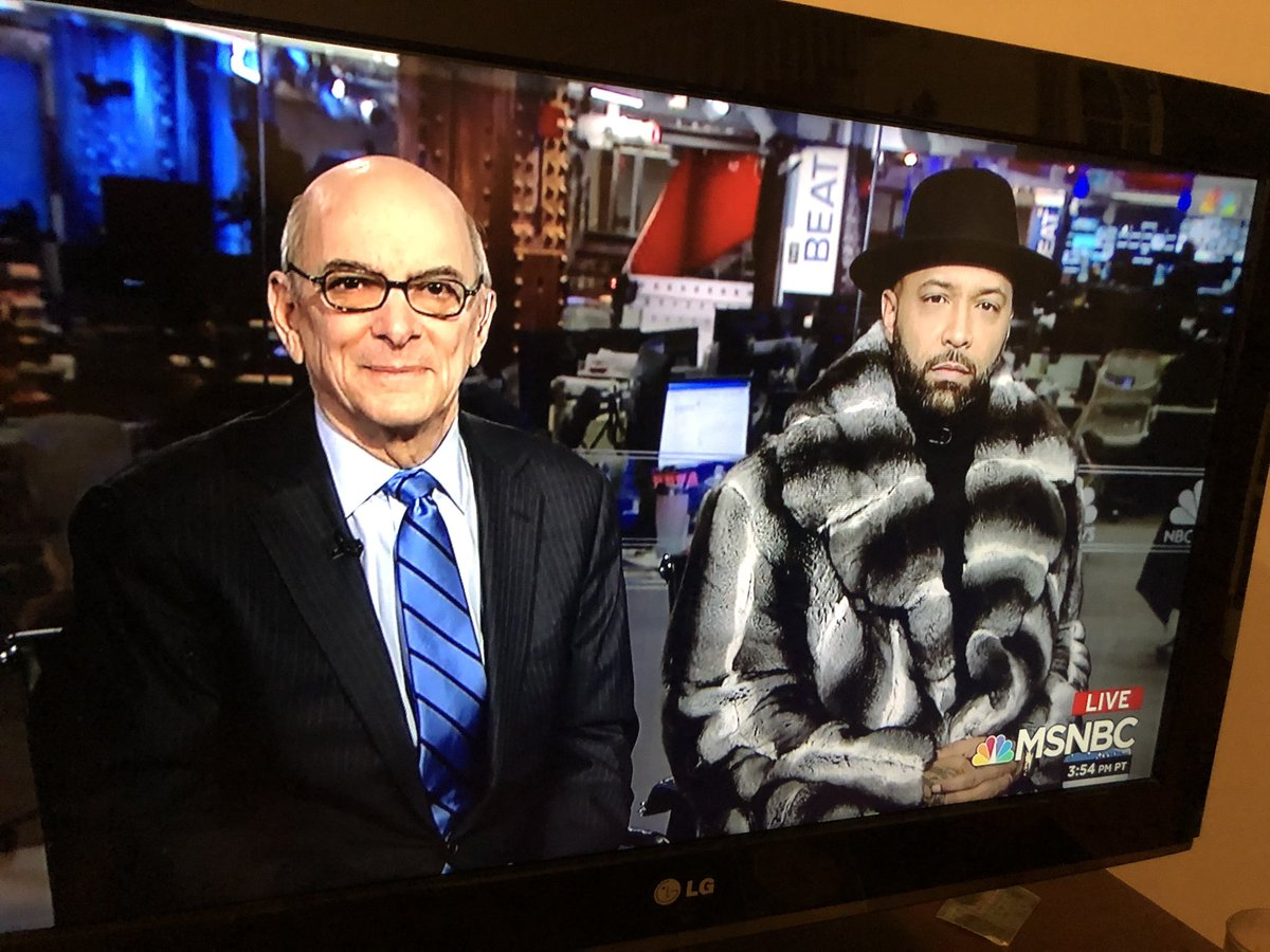 Joe Budden is on MSNBC RN with Watergate prosecutor Nick Akerman.