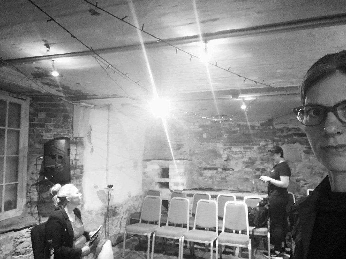 Setting up the stage in this wonderful and unique space for TABOO: #ANNATHOMAS #TREASURY1860 #ADELAIDEFRINGE https://t.co/lzN4nvrUTj https://t.co/pdEy8mJVp3