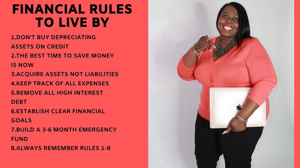 FINANCIAL RULES TO LIVE BY! #realestateinvesting #ifliphomes #kbglobalsolutions #irehab #irehabhomes #webuyhomessc #webuyhomesga #wemakeoffers #kimberlyladoris #homebuyers #sellmyhouse #realtors #realestateagent #loanofficer #homeforsale #rentalproperty #rentalpropertiespic.twitter.com/dMPiN1nc9R