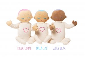 Meet the Lulla Doll -- a sleep companion for babies & kids. Soft & cozy with soothing sounds of real-life breathing and heartbeat. @lulla_doll Lulla doll by RoRo #lulladoll #lullalilac #lullasky #lullacoral #playlearnconnect #baby #giftideas #newmom #parenting #nappaawards