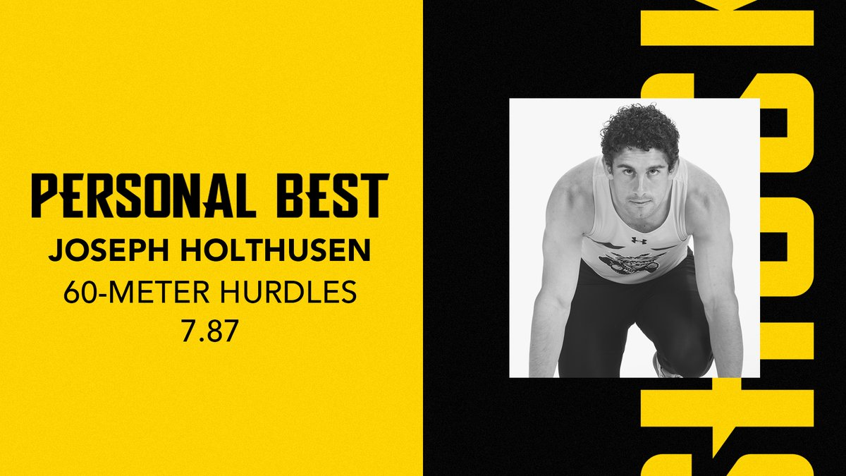 Joseph Holthusen is steadily dropping his PR and slowly climbing up the Shockers' performance list.  He runs a 7.87 in the 60-meter hurdles final to tie for 3rd on the indoor performance list! pic.twitter.com/ZhM3m6hdCC