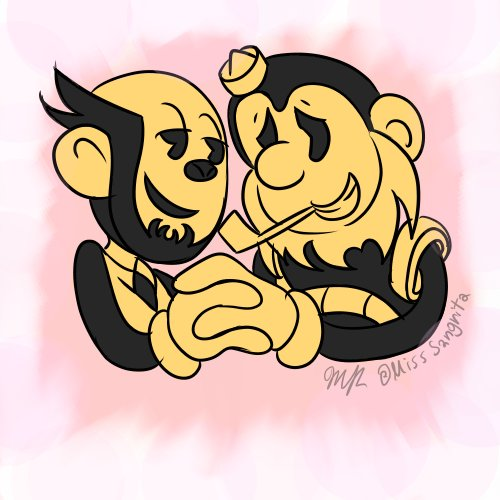 Time to draw the most important ship in the bendy fandom.  (I'm kidding guys all ships are important. )  #BATIM #fanart<br>http://pic.twitter.com/bhugbmDDOs