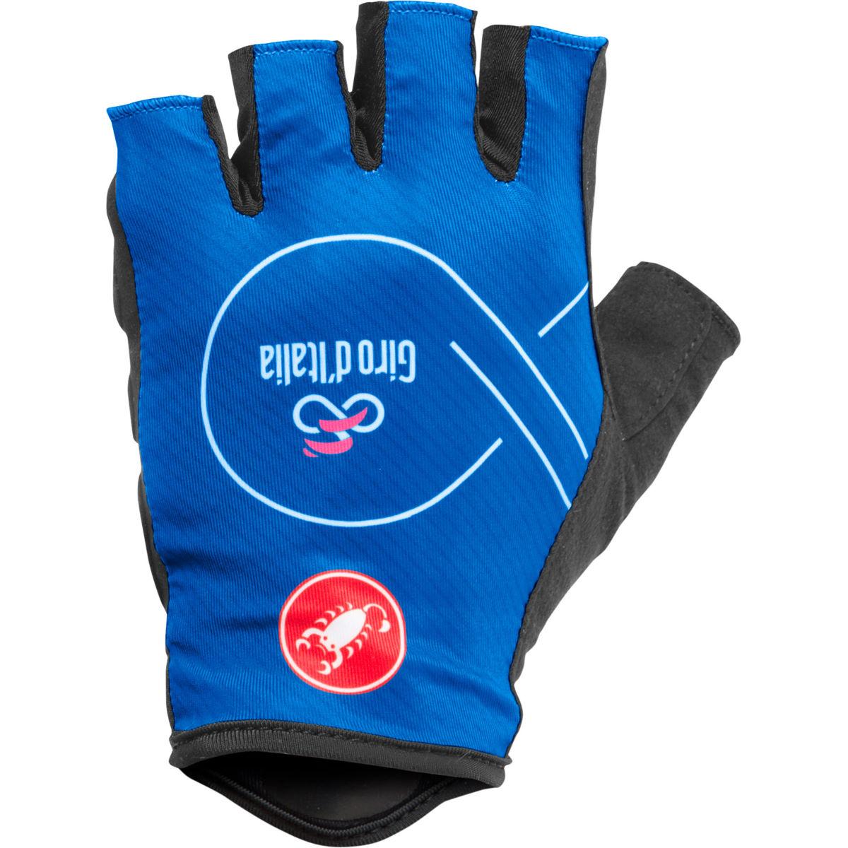 Castelli Giro D'Italia Gloves - L  Azzurro  | Short Finger Gloves http://bikes.net.au/t/2qDt #cycling