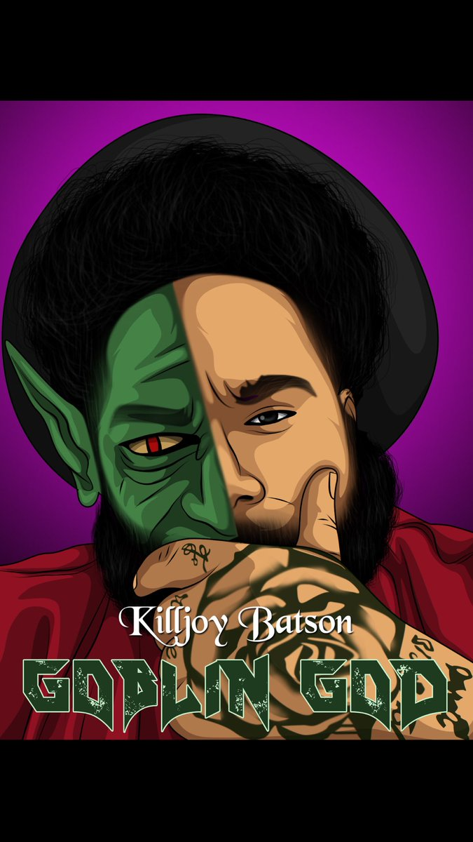 Goblin God. Art: _nicole_hill_ #rap #hiphop #music #rapper #trap #artist #beats #newmusic #love #producer #rapmusic #hiphopmusic #freestyle #art #soundcloud #rappers #follow #spotify #dj #explorepage #youtube #like #rnb #hiphopculture #song #s #trapmusic #bhfyp #musica #bhfyp