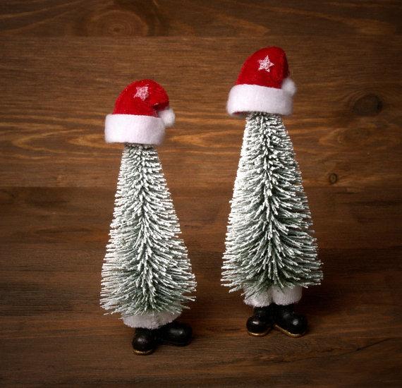 Funny Miniature #Christmas Tree for Your Dollhouse by DinkyWorld -  http:// etsy.me/1PKEECu      #christmas <br>http://pic.twitter.com/9yqEKV2BC2